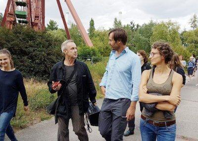 ZKR Spreepark Kunstführung / Hans Winkler / Vom Verschwinden. Foto: Hartmut Peters